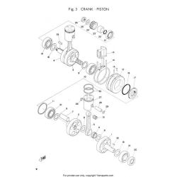 PART LIST - RD125 - AS3 - Edition 1973 + additif europe