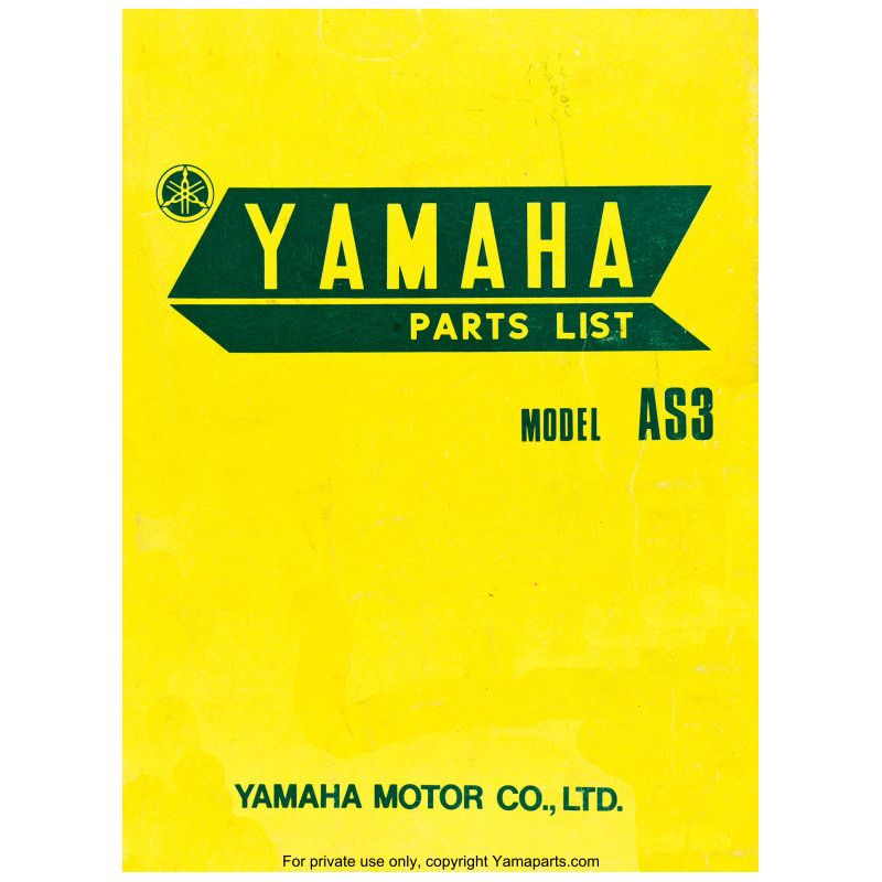 PART LIST - 125 - AS3 - Edition 1971